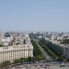 Aussicht über die Stadt vom Balkon des Palasts