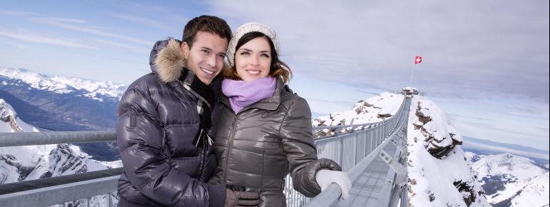 Ideales Fotomotiv: Die weltweit einzige Hängebrücke ihrer Art hat Platz für bis zu 300 Besucher. Aus Komfortgründen werden jedoch nur 150 zugelassen.