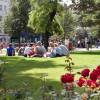 Eine beliebte Rastmöglichkeit- Der Park Smetanovy Sady