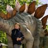Lebensgroße Modelle im Dinopark