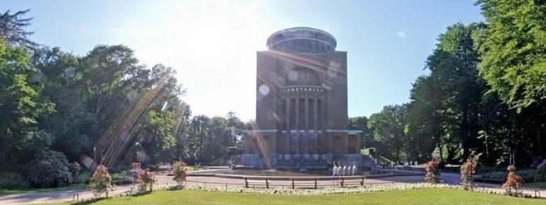 Außenansicht des Planetariums Hamburg