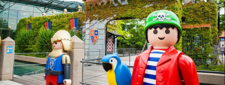 Der Playmobil-Funpark in Zirndorf ist ein tolles Ziel für einen Familienausflug.