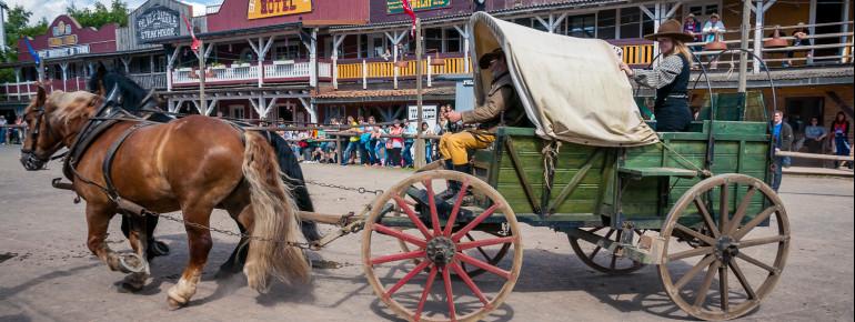 Mit der Kutsche durch Pullman City