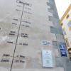 Am Rathausturm wurden Hochwassermarken angebracht.