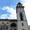 Der zweite Rathausturm misst eine Höhe von 38 Metern.