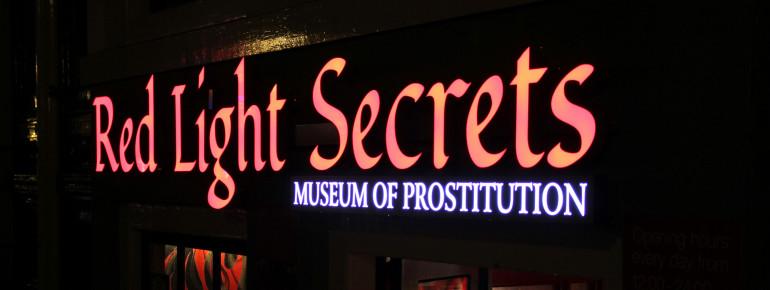 Das Red Light Secrets - Museum of Prostitution befindet sich in einem ehemaligen Bordell, mitten im Amsterdamer Rotlichtviertel.