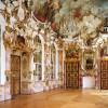 Der Festsaal der Residenz Kempten spiegelt die Macht des Fürstabts wieder.