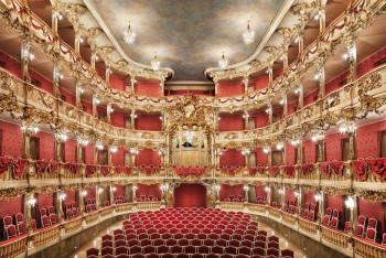 Das Cuvilliés-Theater trägt den Namen des entwerfenden Architekten: François Cuvilliés.