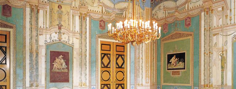 Der Salon der Königin vermittelt einen Eindruck von der höfischen Wohnkultur.