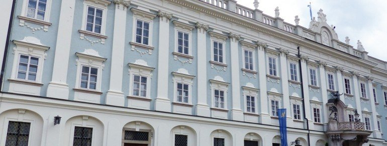 Die Neue Bischöfliche Residenz am Residenzplatz