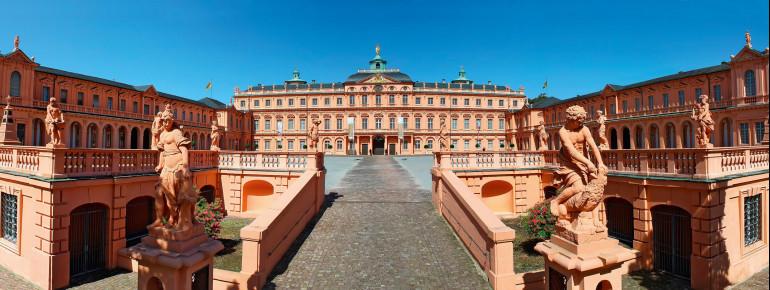 Das Residenzschloss Rastatt
