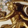 Der Gott des Schlafes Hypnos im Schlafzimmer der Markgräfin