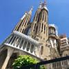 Die Passionsfassade der Sagrada Família zeigt den Leidensweg Christi.