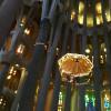 Der Altar innerhalb der Apsis.