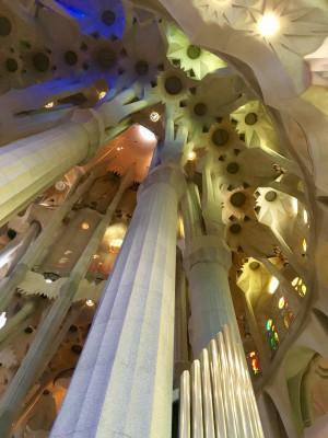 Imposante Gewölbe- und Säulenkunst in Kombination mit einem wahren Farbenspiel beeindrucken Klein und Groß.