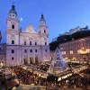 Der Salzburger Christkindlmarkt auf dem Domplatz