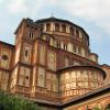 Die Apsis der Santa Maria delle Grazie