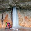 Die Schellenberger Eishöhle ist die größte Deutschlands.