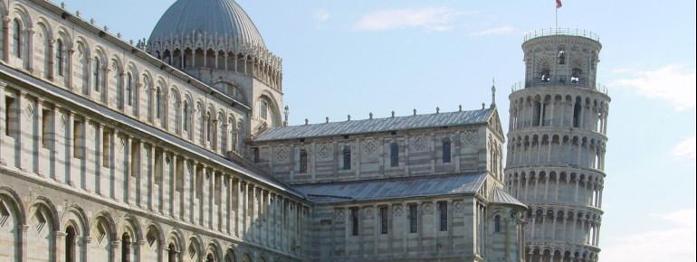 Der schiefe Turm von Pisa zählt zum UNESCO-Weltkulturerbe