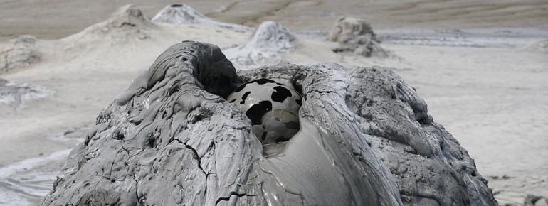 Schlammvulkane und ihre Formationen