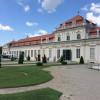 Durch den Schlossgarten gelangt man zum Unteren Belvedere.