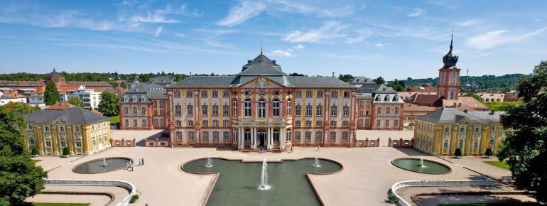 Schloss Bruchsal war die einzige geistliche Residenz am Oberrhein.