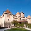 In der Burganlage gibt es vier Schlosshöfe.