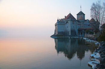Das Schloss Chillon kann ganzjährig besichtigt werden.