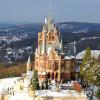 Im Winter ist das Schloss Schauplatz eines Weihnachtsmarkts.