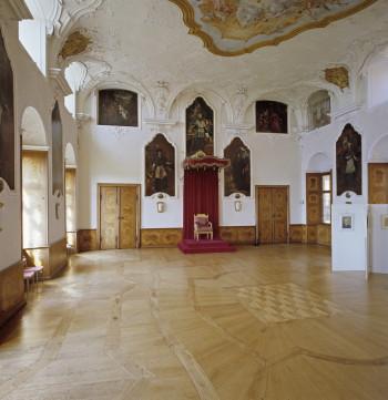 Der Thronsaal sollte die Macht des Kurfürst Friedrich symbolisieren.