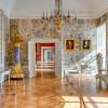 """Im """"Großen Chinesischen Salon"""" kannst du handgemalte und bedruckte chinesische Tapeten aus dem 18. Jahrhundert bewundern."""