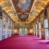 Der Haydnsaal ist mit seinen kunstvollen Fresken das Prunkstück des Schlosses.