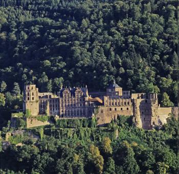 1 Million Besucher aus der ganzen Welt kommen jedes Jahr zum Schloss in Heidelberg.