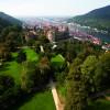 Die barocken Gartenanlagen von Schloss Heidelberg sind nur noch in Spuren erkennbar.