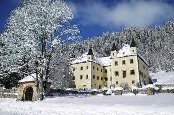 Auch im Winter ein tolles Motiv: Schloss Höch
