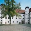 Der Innenhof des Schlosses.