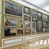 Die große Bildergalerie nimmst fast den ganzen östlichen Flügel des Obergeschosses im Schloss Ludwigslust ein.