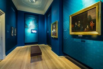 Eine Ausstellung liefert Wissenswertes über die Geschichte des Schlosses.