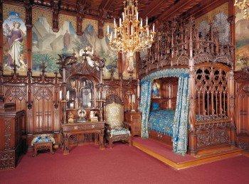 Das Schlafzimmer des Königs