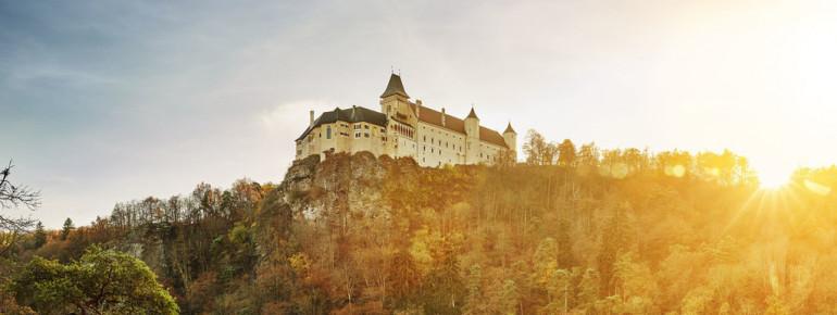 Das Renaissanceschloss liegt im niederösterreichischen Ort Rosenburg.