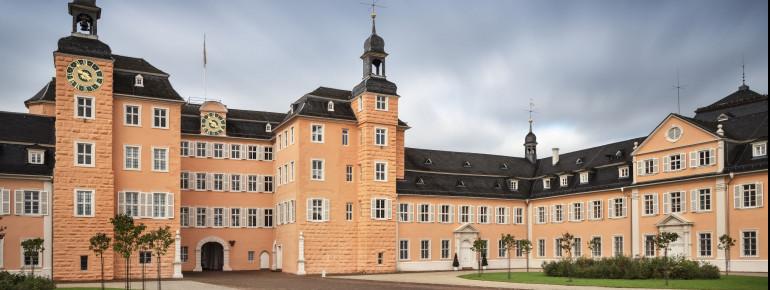 Ehrenhof von Schloss Schwetzingen