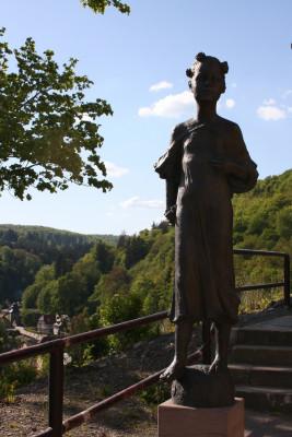 Skulptur der Juliana zu Stolberg-Wernigerode