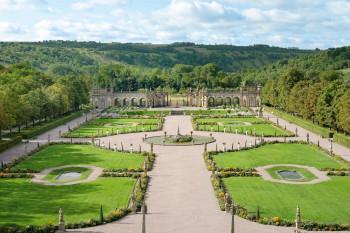 Der Schlossgarten von Weikersheim ist ein Paradies in einzigartiger Erhaltung.