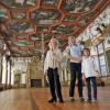 Der Rittersaal im Inneren des Schlosses ist besonders beeindruckend.