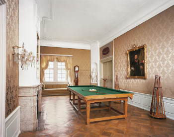 Das Schlossinnere wurde aufwändig restauriert.