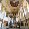 Die barocke Schlosskapelle bildet den architektonischen und künstlerischen Höhepunkt der Anlage.