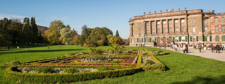 Die klassizistische Sommerresidenz Schloss Wilhelmshöhe war eine der letzten Großbauten des Absolutismus.