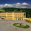 Vorderansicht des Schloss Schönbrunn.