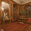 Das Nussholzzimmer wurde bereits um 1765 mit der namensgebenden Nussholzvertäfelung als Audienzzimmer ausgestattet.