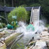 Die Kinder-Wildwasserbahn bietet den kleinen Gästen einen riesen Spaß.